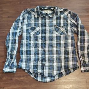 American rag button down shirt xl